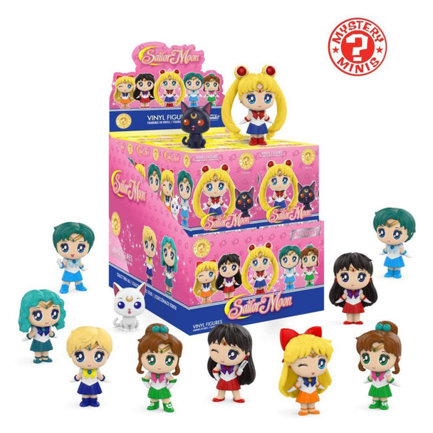 Sailor Moon Series 1 Mystery Minis Random 4-Pack