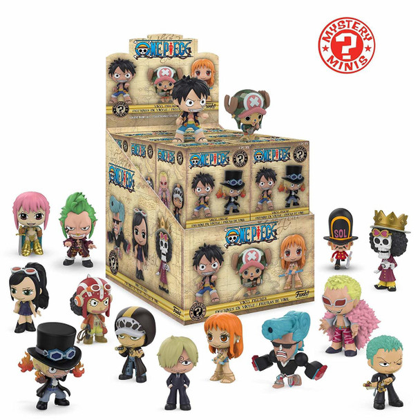 One Piece Mystery Minis Random 4-Pack