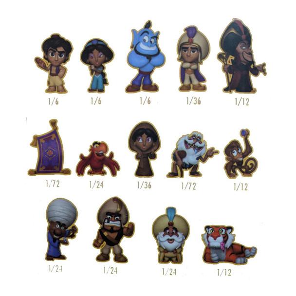 Aladdin Mystery Minis Mini-Figure Random 4-Pack