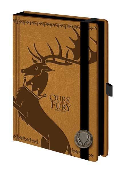 Game of Thrones Baratheon Premium A5 Journal