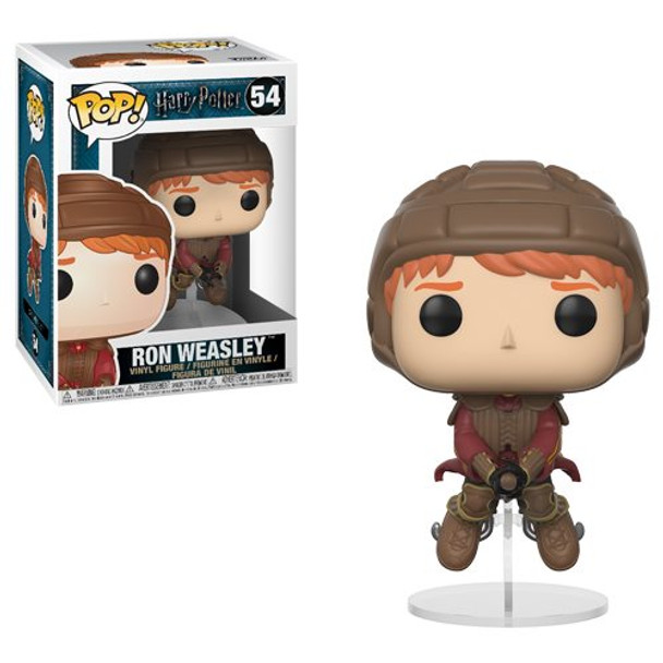 Harry Potter Ron Weasley on Broom Pop! Vinyl Figure #54