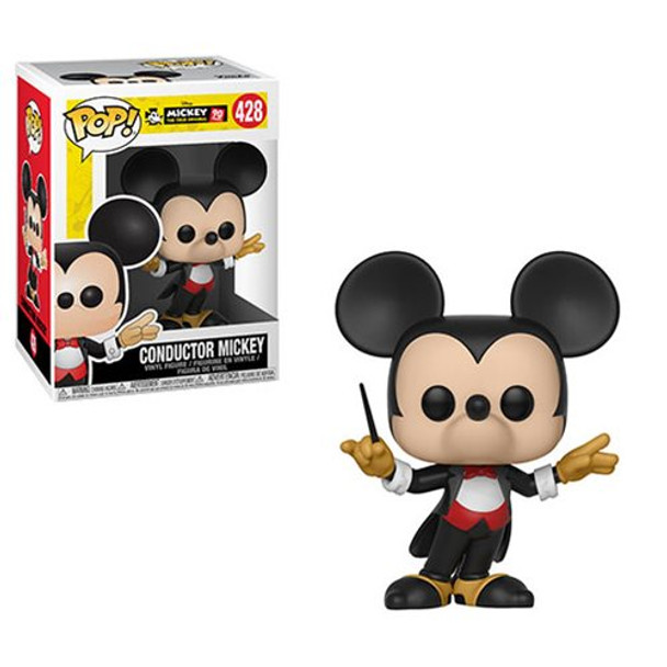 Mickey's 90th Conductor Mickey Pop! Vinyl Figure #428