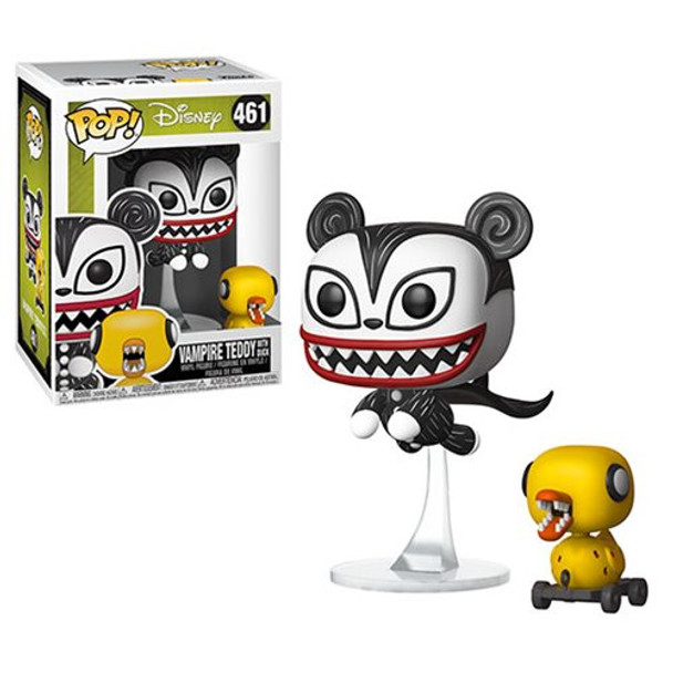 Nightmare Before Christmas Vampire Teddy with Undead Duck Pop! Vinyl Figure #461