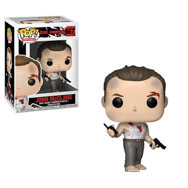 Die Hard John McClane Pop! Vinyl Figure #667