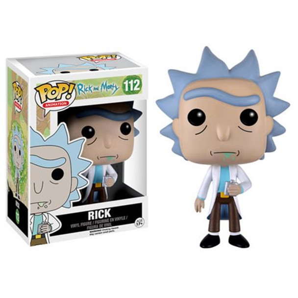 Rick and Morty Rick Pop! Vinyl Figure