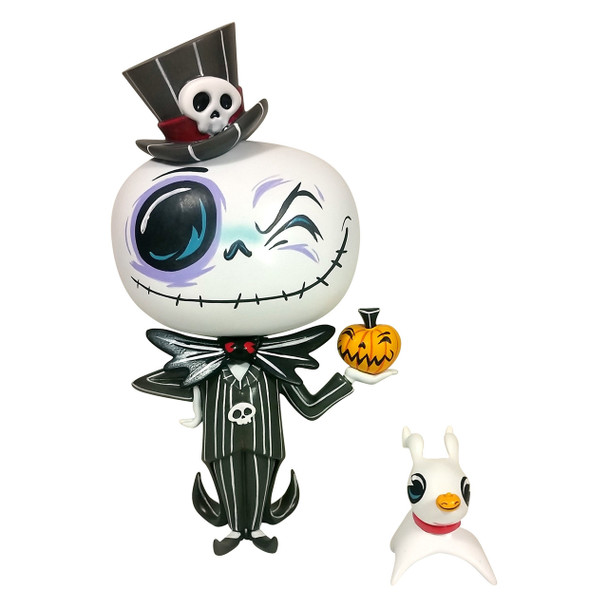 Disney The World of Miss Mindy Nightmare Before Christmas Jack Skellington Vinyl Figure