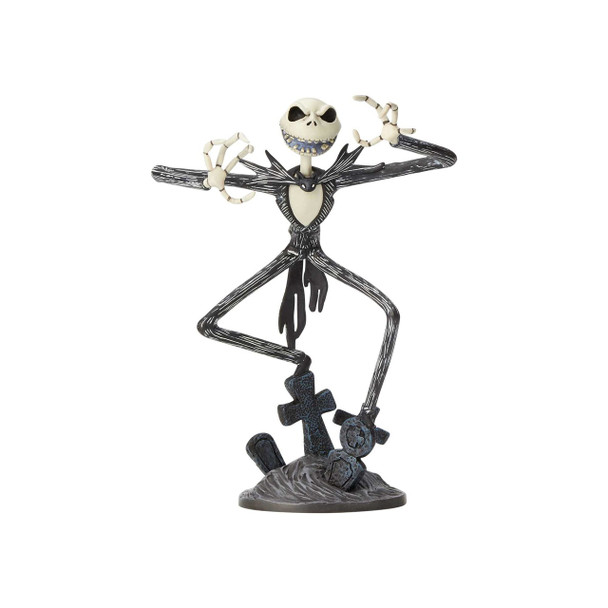 Nightmare Before Christmas Jack Skellington 8 1/2-Inch Grand Jester Vinyl Figure