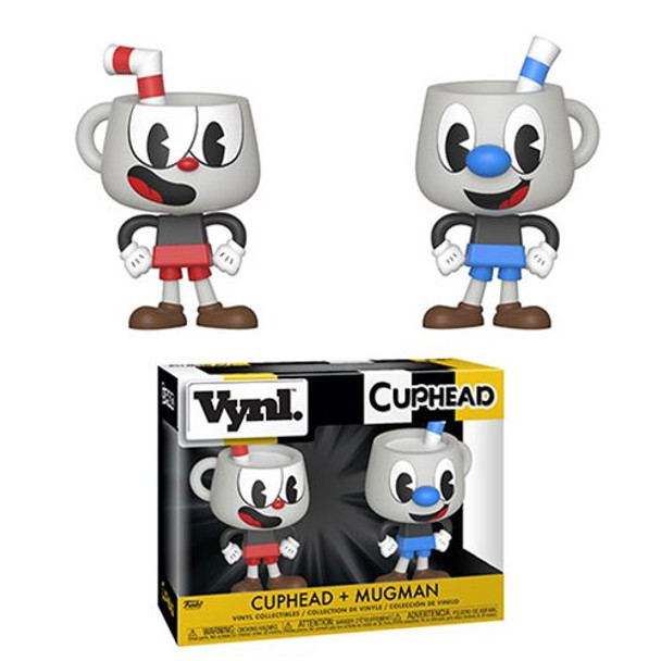 Cuphead and Mugman Vynl. Figure 2-Pack