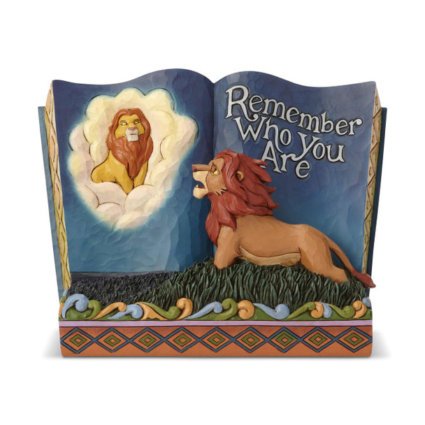 Disney Traditions The Lion King Remember Who You Are Storybook Statue by Jim Shore