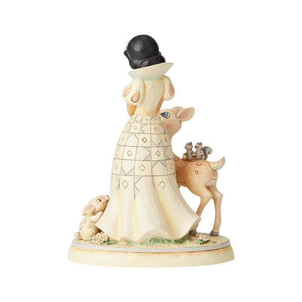 Disney Traditions Snow White White Wonderland Forest Friends Statue by Jim Shore