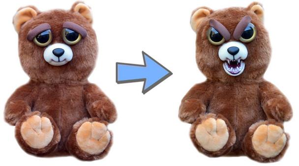 Feisty Pets Sir Growls-A-Lot the Bear