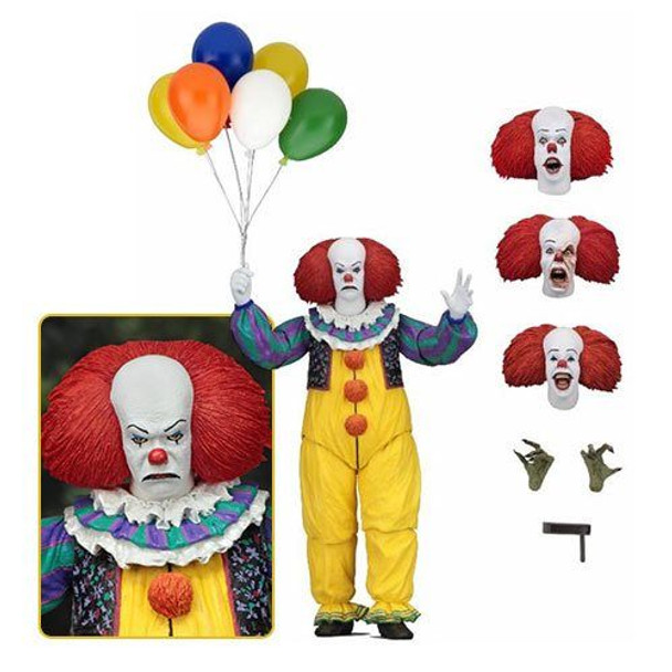 IT Ultimate Pennywise 1990 7-Inch Action Figure