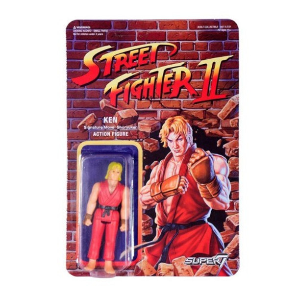 Street Fighter II Ken ReAction Figure