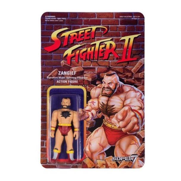 Street Fighter II Zangief ReAction Figure
