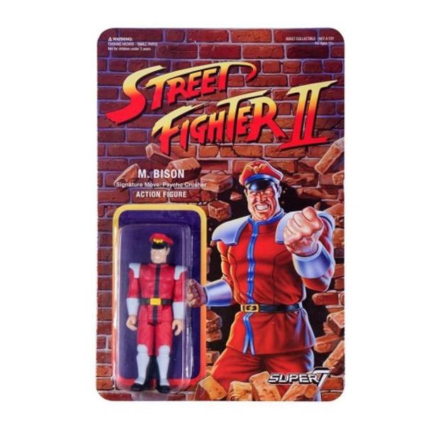 Street Fighter II M. Bison ReAction Figure