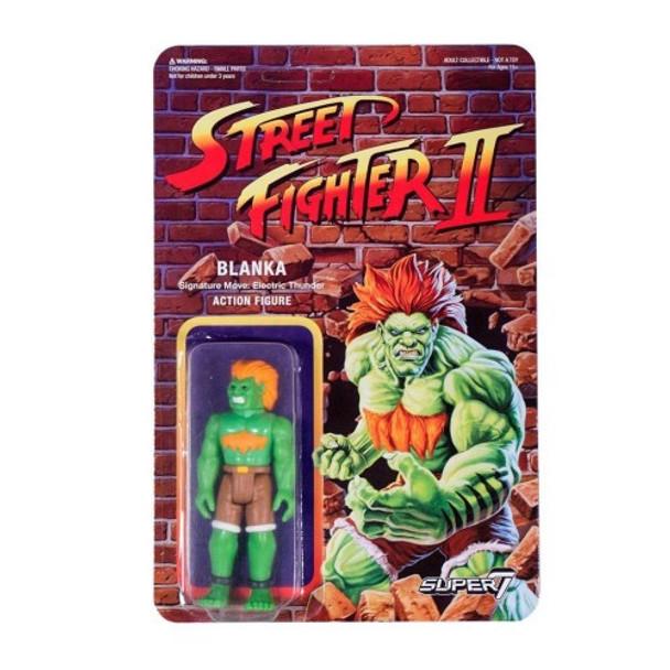 Street Fighter II Blanka ReAction Figure