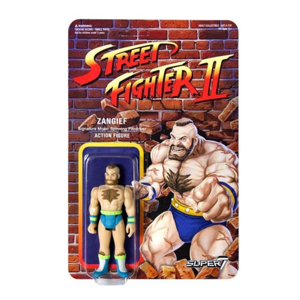 Street Fighter II Zangief Championship Edition ReAction Figure
