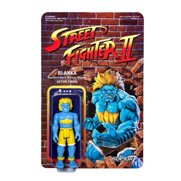 Street Fighter II Blanka Championship Edition ReAction Figure