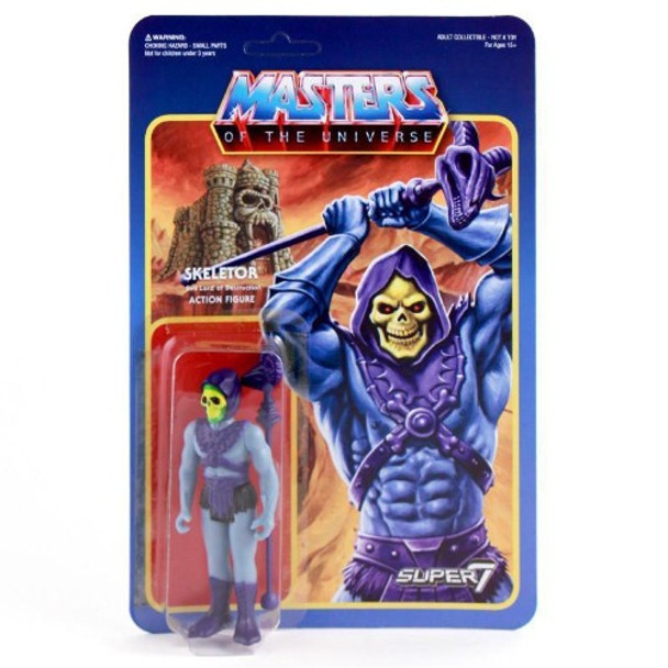 Master Of The Universe Skeletor ReAction Figure