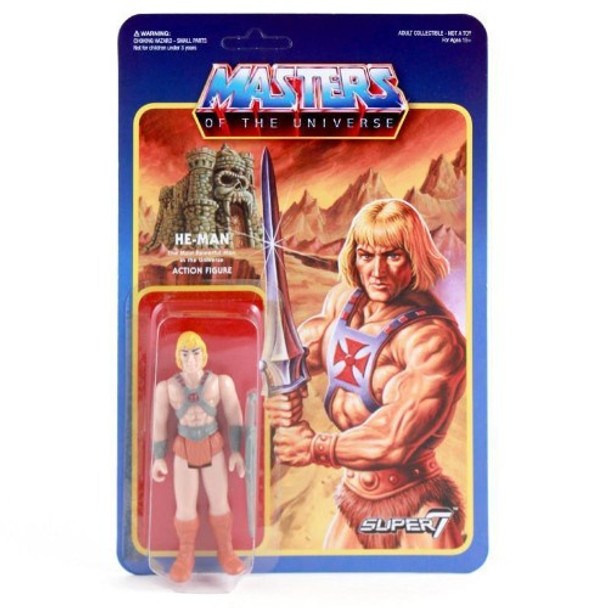 Master Of The Universe He-Man ReAction Figure