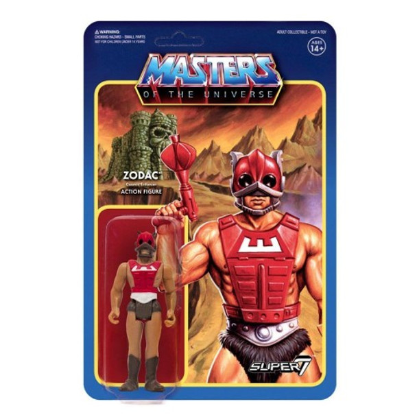 Master Of The Universe Zodiac ReAction Figure