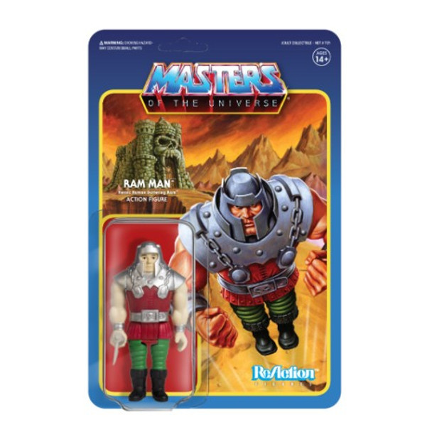 Master Of The Universe Ram Man ReAction Figure