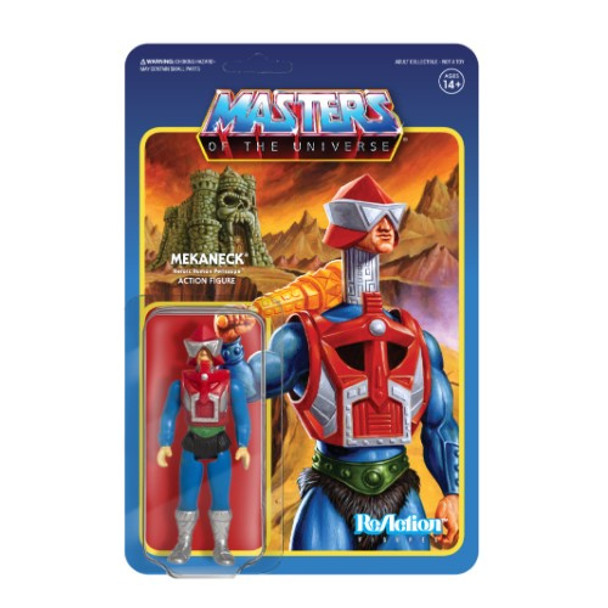 Master Of The Universe Mekaneck ReAction Figure