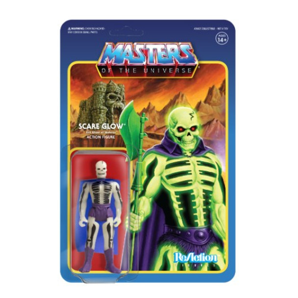 Master Of The Universe Scare Glow ReAction Figure