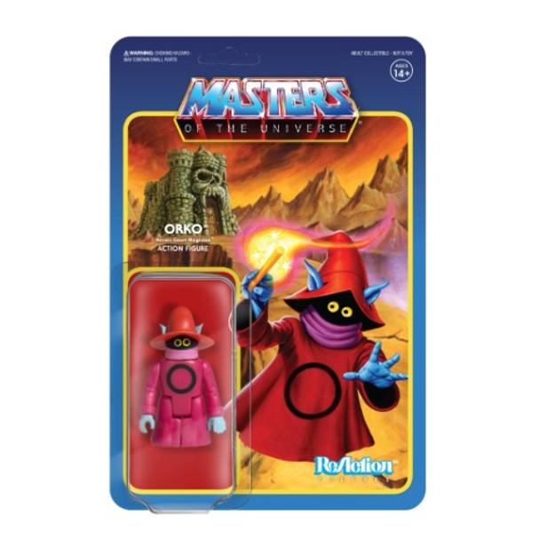 Master Of The Universe Orko ReAction Figure