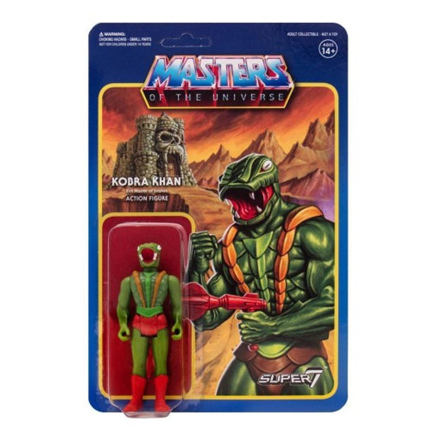 Master Of The Universe Kobra Khan ReAction Figure