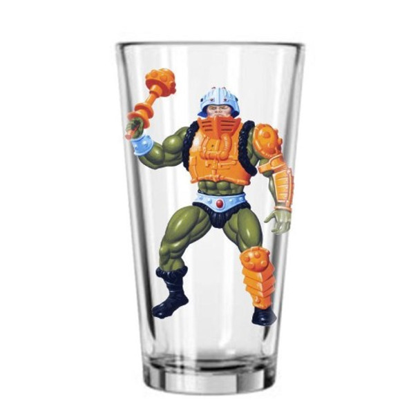 Masters of the Universe Man-At-Arms Pint Glass