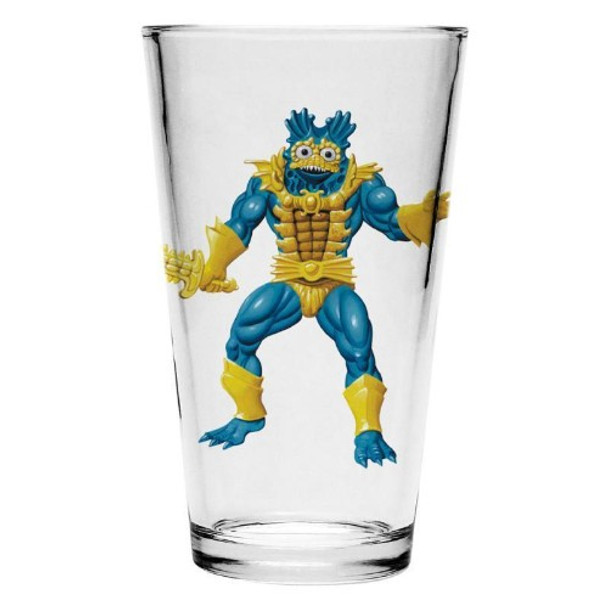 Masters of the Universe Mer-Man Pint Glass