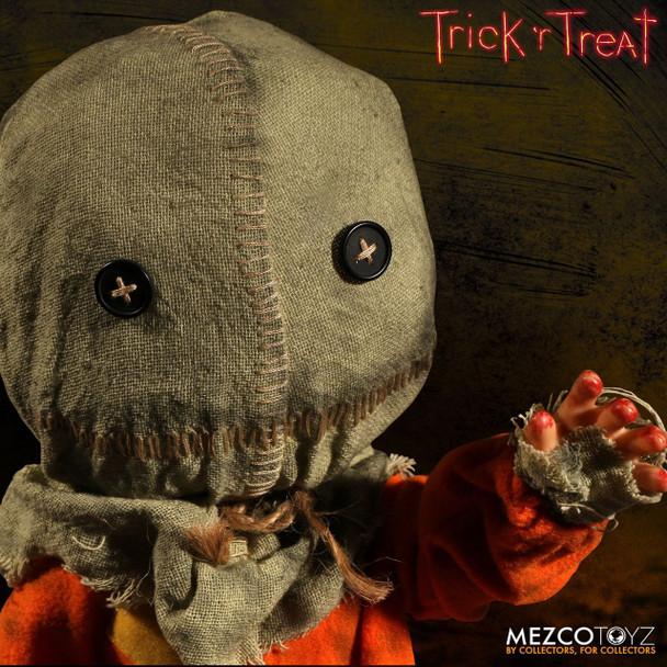 [PRE-ORDER] Trick 'r Treat Sam Mega-Scale 15-Inch Doll