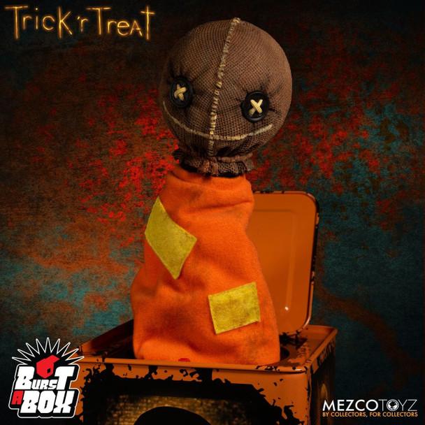 Trick 'r Treat Sam Burst a Box Jack-in-the-Box