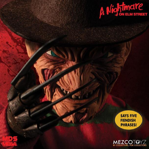 [PRE-ORDER] A Nightmare on Elm Street Freddy Krueger Talking Mega-Scale Doll