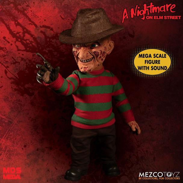 A Nightmare on Elm Street Freddy Krueger Talking Mega-Scale Doll