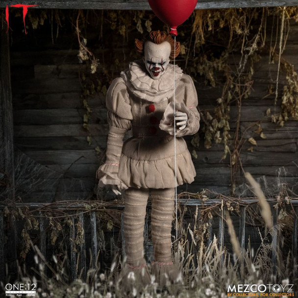 [PRE-ORDER]It 2017 Pennywise One:12 Collective Action Figure