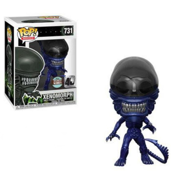 Specialty Series Alien 40th Anniversary Xenomorph (Blue Metallic) POP! Vinyl Figure