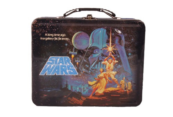 Star Wars A New Hope Movie Poster Embossed Lunch Box
