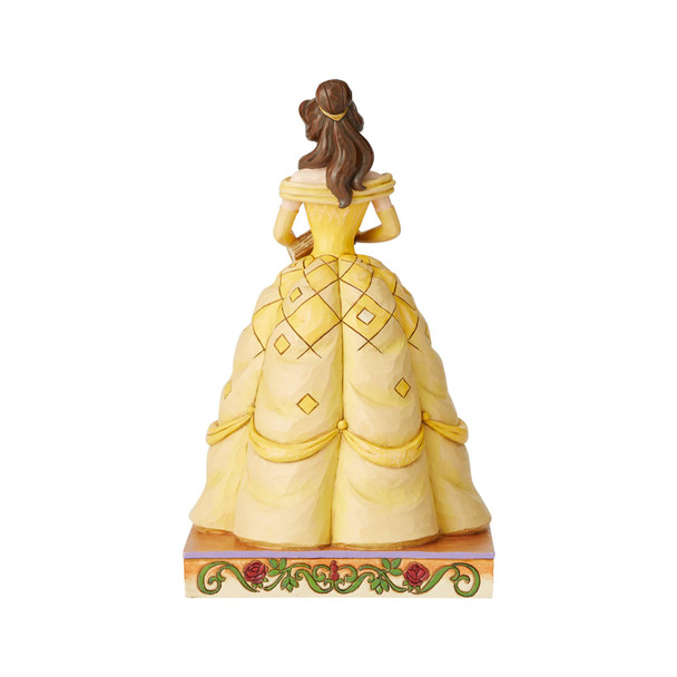 Disney Traditions Beauty and the Beast Princess Passion Belle Book-Smart Beauty by Jim Shore Statue