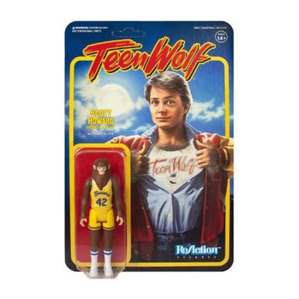Teen Wolf Scott Howard Varsity Edition 3 3/4-Inch ReAction Figure
