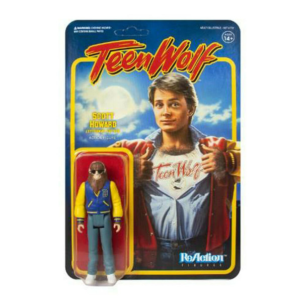 Teen Wolf Scott Howard Letterman Edition 3 3/4-Inch ReAction Figure
