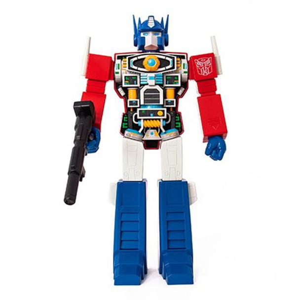 Transformers Optimus Prime Super Cyborg Vinyl Figure