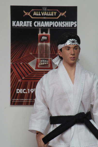 Karate Kid 1984 All-Valley Karate Championships Tournament Cloth 8-Inch Action Figure 2-Pack