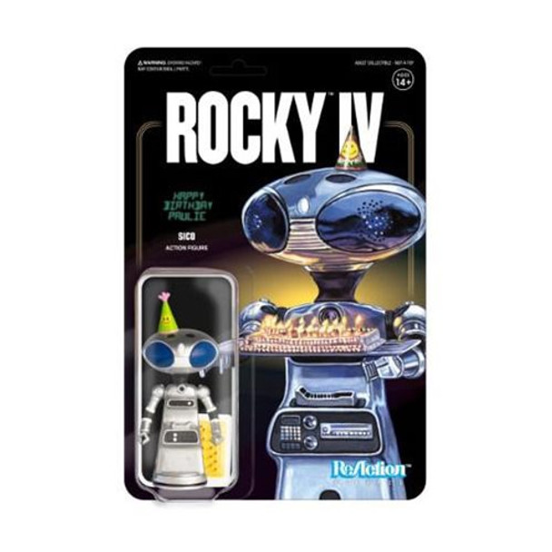 Rocky IV SCB Paulie's Robot ReAction Figure