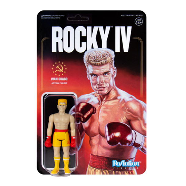 Rocky IV Ivan Drago ReAction Figure