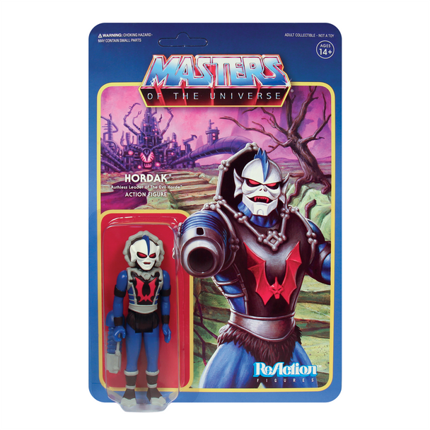 Masters of the Universe Hordak 3 3/4-Inch ReAction Figure