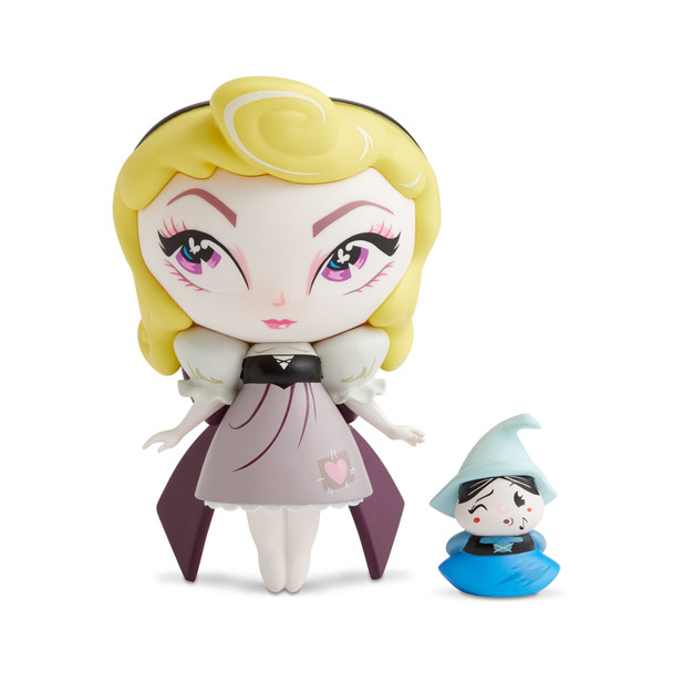 Disney The World of Miss Mindy Sleeping Beauty Aurora With Merryweather Vinyl Figure