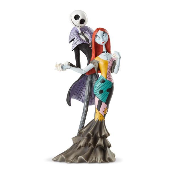 Disney Showcase Nightmare Before Christmas Jack Skellington and Sally Deluxe Statue