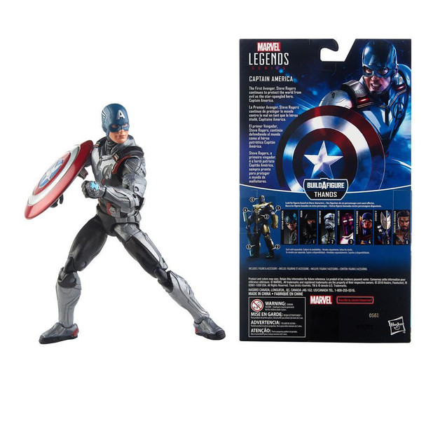 Marvel Legends Series Avengers: Endgame 6-inch Captain America Figure